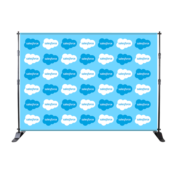 Step and Repeat Backdrop (Adjustable)
