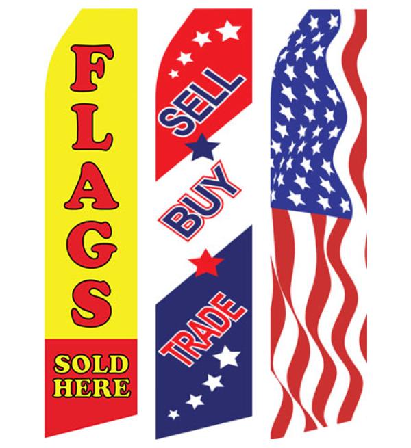 Econo Stock Flags