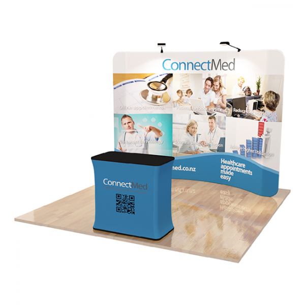 Trade Show Tension Fabric Display