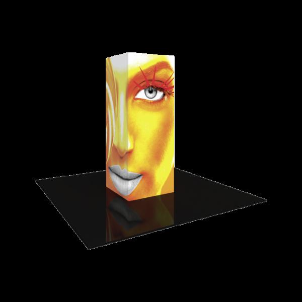 3'x8' - Modular Backlit Tower 01