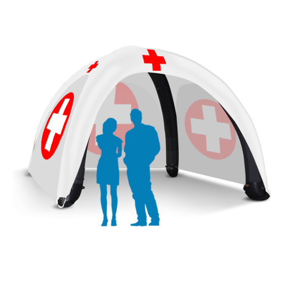 Printed Inflatable Medical Tent