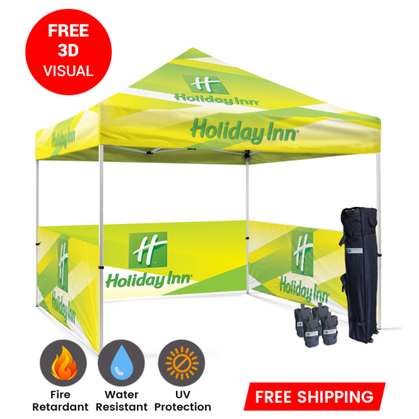 custom printed tents