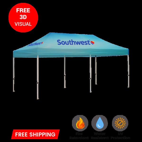 Full Print Canopy Tent 10ft x 20ft
