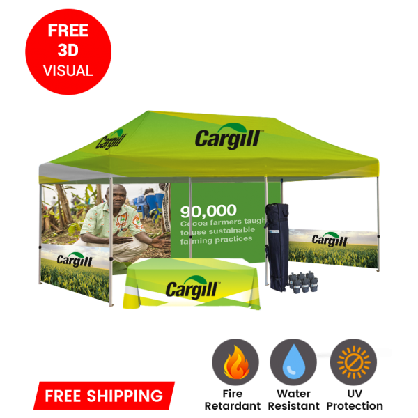custom printed tents and canopies