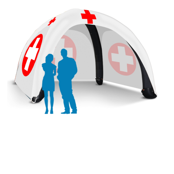13ft X 13ft Inflatable Medical Tent