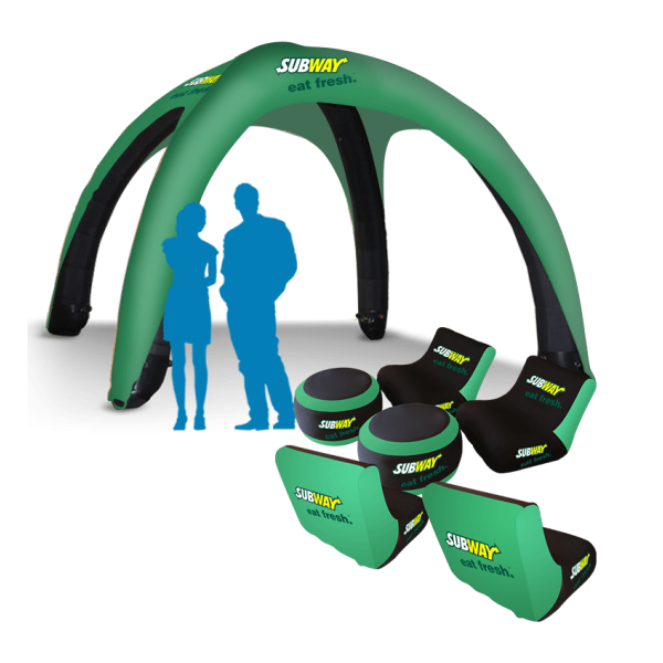 Inflatable Event Spider Tents