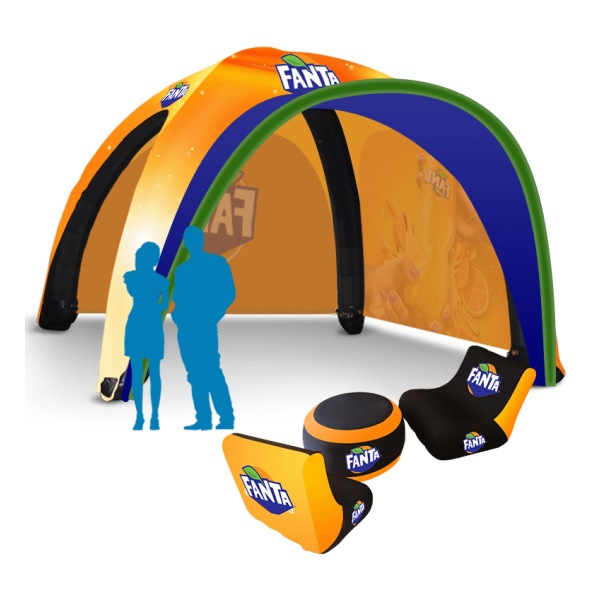 Inflatable Branded event tent