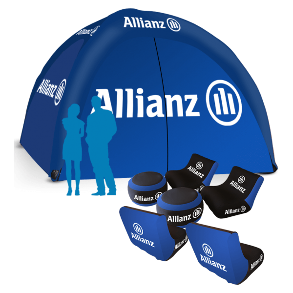 Inflatable Logo Tent