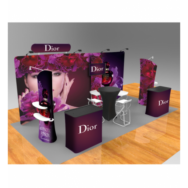 custom trade show displays booth