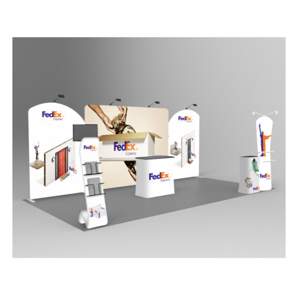 custom exhibits Booth