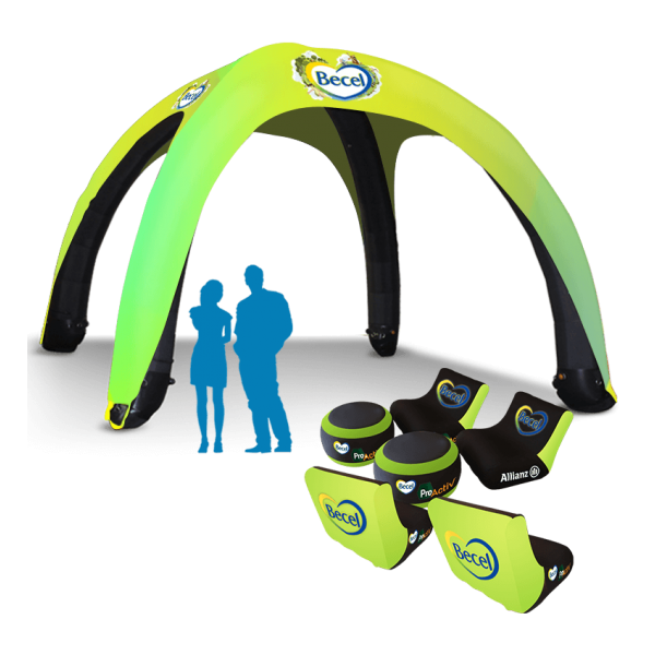 Inflatable sports Canopies