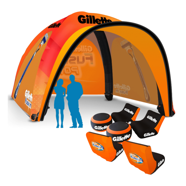 Inflatable Sports Spider Dome Tent