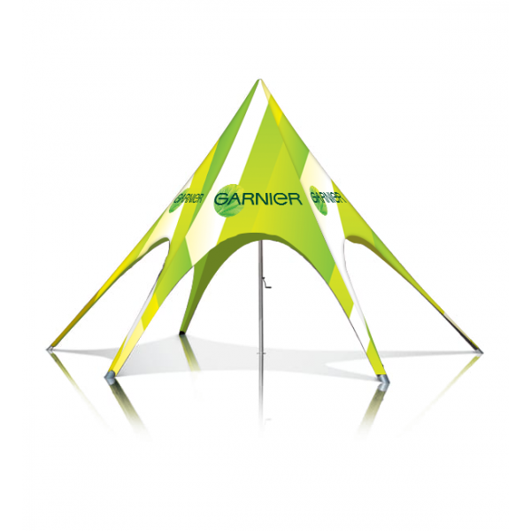 Single Peak Star Tent – 40Ft
