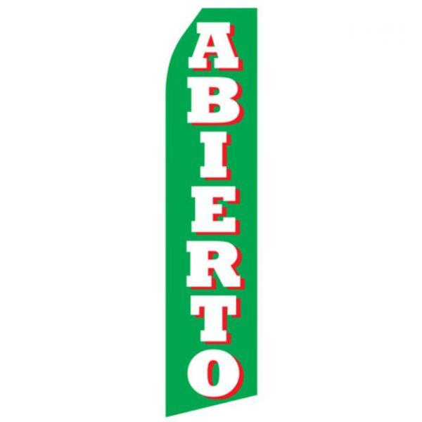 Abierto Econo Stock Flag