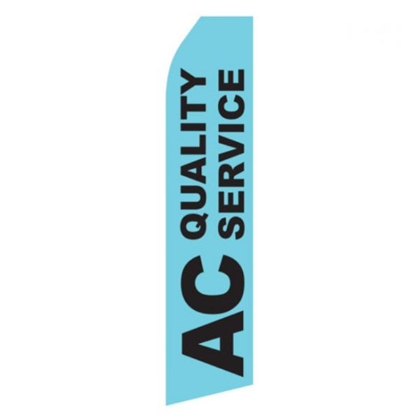 Air Conditioning Service Econo Stock Flag