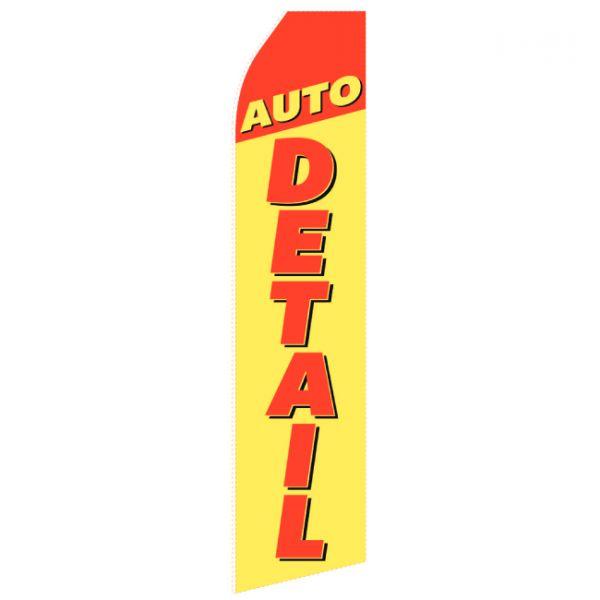 Auto Detail Econo Stock Flag