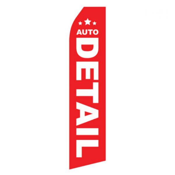 Auto Detail Econo Stock-Flag