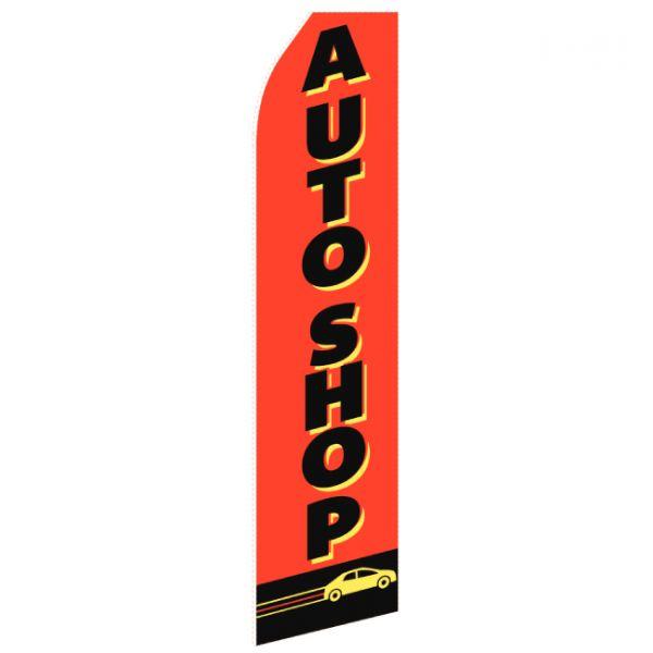 Auto Shop Feather Flag
