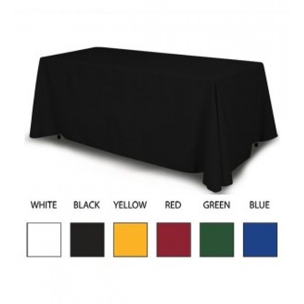 4 Sided Blank Table Throw - 4ft
