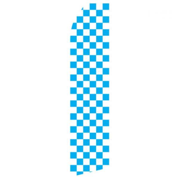 Blue Checkered Econo Stock Flag