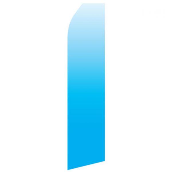 Blue Gradient Econo Stock Flag