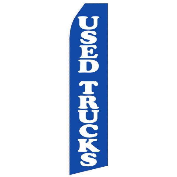 Blue Used Truck Econo Stock Flag