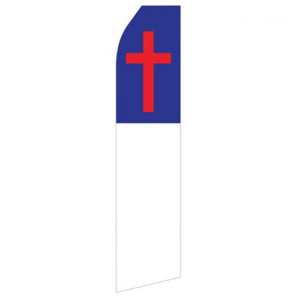 Red Cross Econo Stock Flag