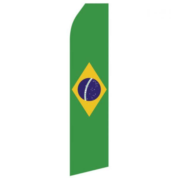 Brazilian Flag Econo Stock Flag