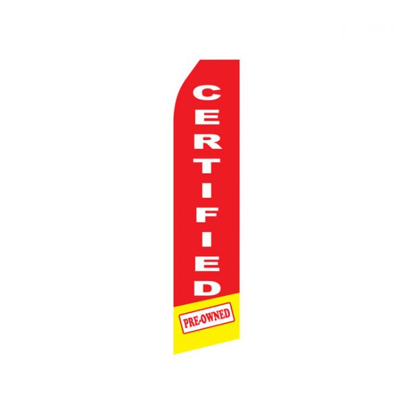 Certified Pre-Owned Econo Stock Flag