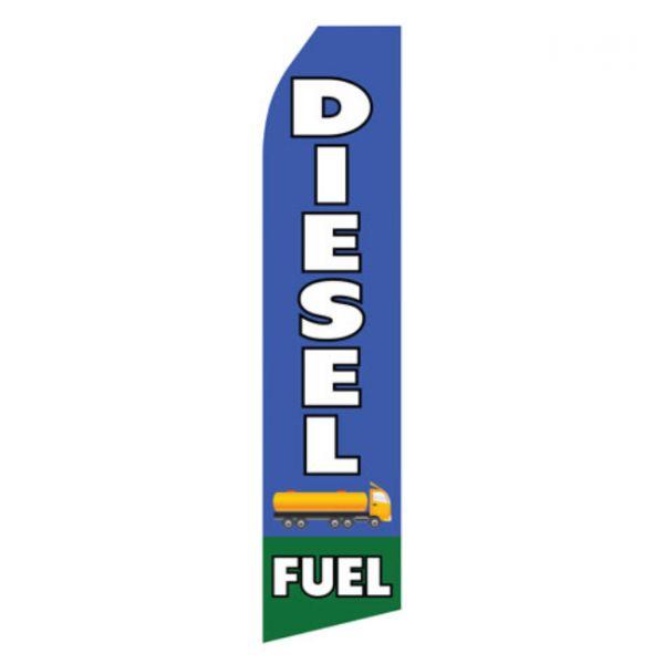 Diesel Fuel Econo Stock Flag
