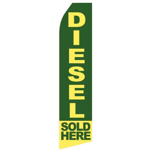 Diesel Here Econo Stock Flag