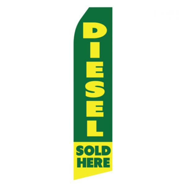 Diesel Sold Here Econo Stock Flag