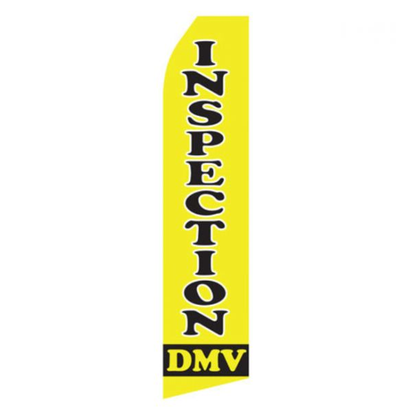 Inspection DMV Econo Stock Flag