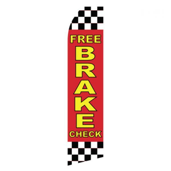 Free Brake Check Econo Stock Flag