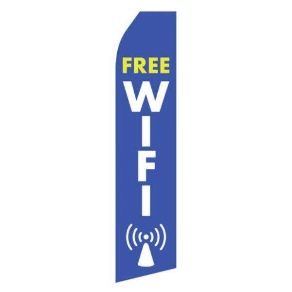 Free Wifi Econo Stock Flag