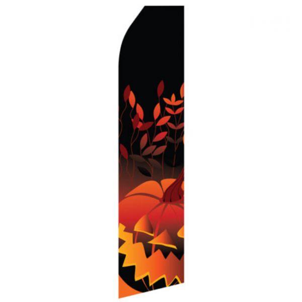 Halloween Pumpkin Econo Stock Flag