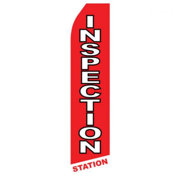 Inspection Station Econo Stock Flag