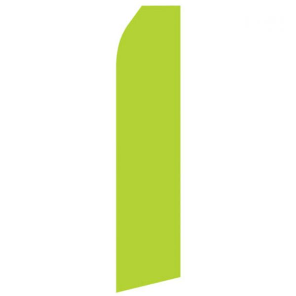 Lime Green Econo Stock Flag