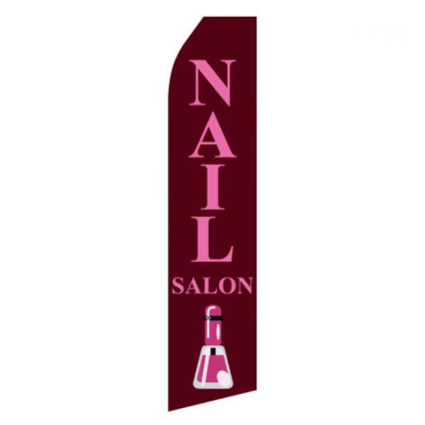 Nail Salon Econo Stock Flag