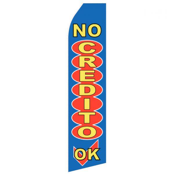 No Credit Econo Stock Flag