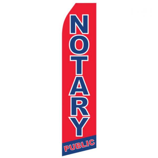 Notary Public Econo Stock Flag