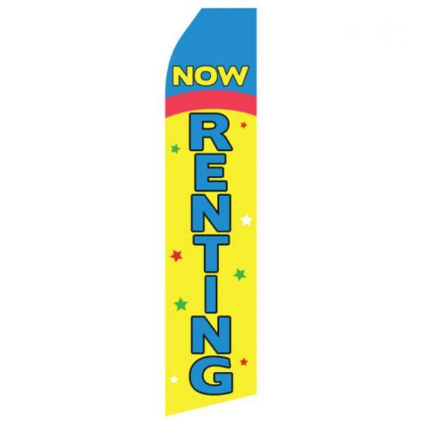Now Renting Econo Stock Flag