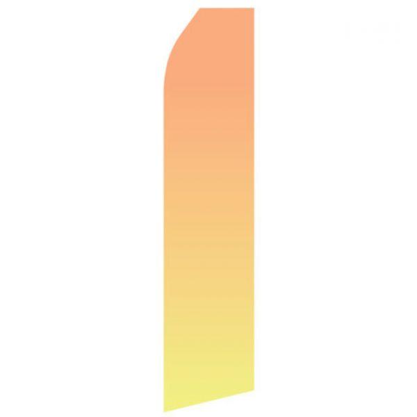 Orange Yellow Gradient Econo Stock Flag