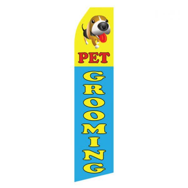 Pet Grooming Econo Stock Flag