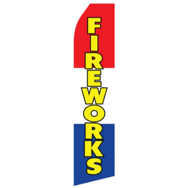 Red, White, and Blue Fireworks Econo