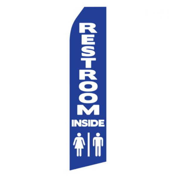 Restroom Inside Econo Stock Flag