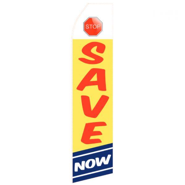 Save Now Econo Stock Flag