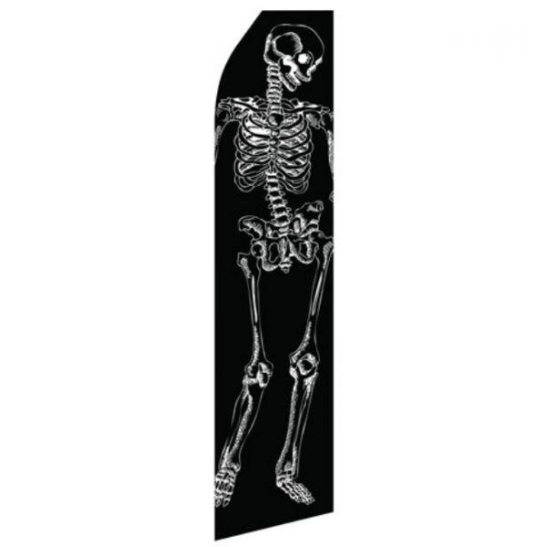 Skeleton Econo Stock Flag