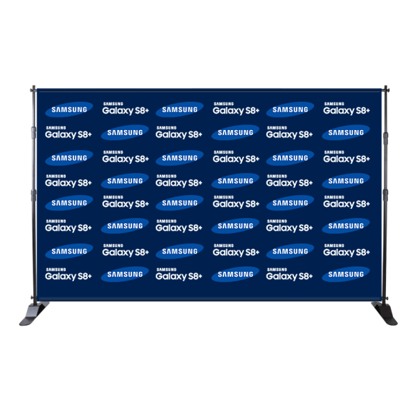 Portable Step and Repeat Backdrop