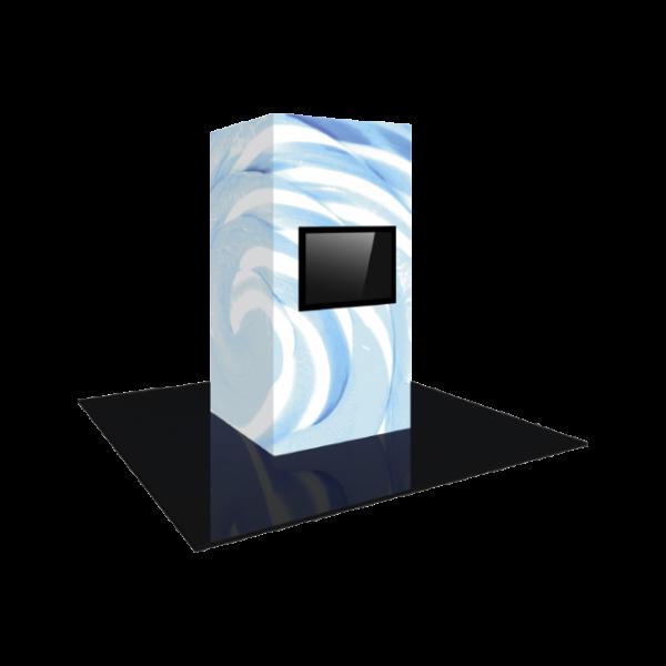 4'X8' - Modular Backlit Monitor Tower 02